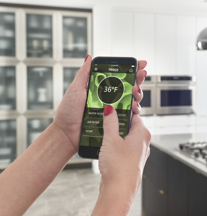 Love that you can control your Monogram appliances with their Wifi Connect app!
