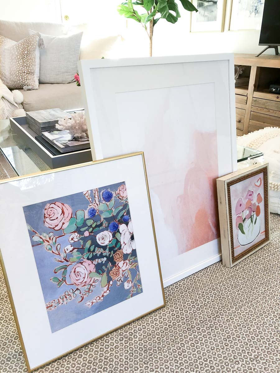 Love this trio of spring inspired art prints!