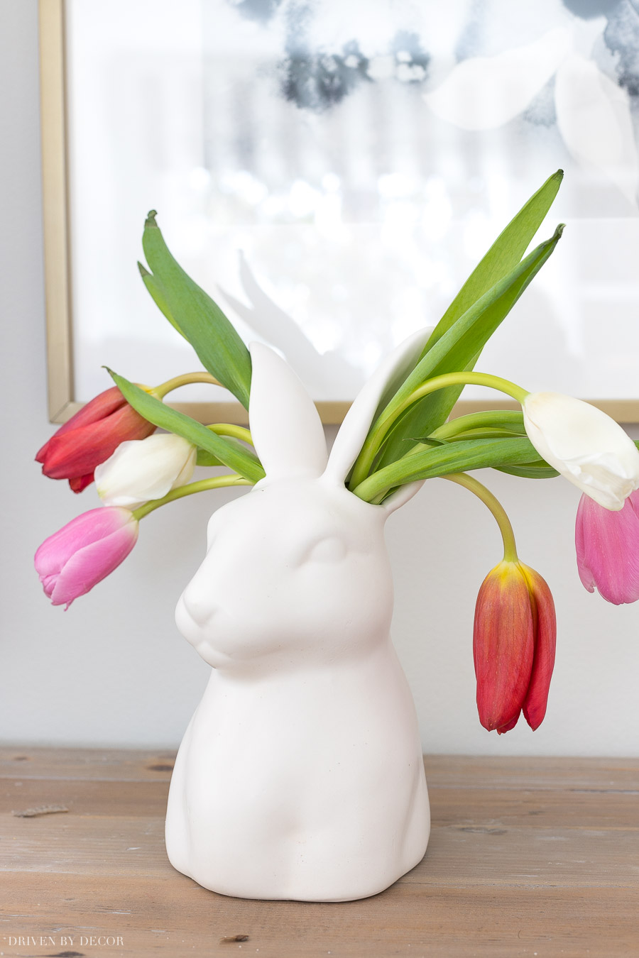 This bunny ear vase is the cutest thing ever! Link to find it is in the post!