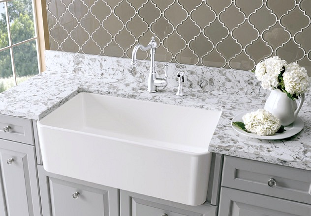 My future farmhouse sink! The perfect large size and super durable!