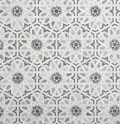 A gorgeous choice for kitchen backsplash tile! Walker Zanger's Villa D'Oro Granada