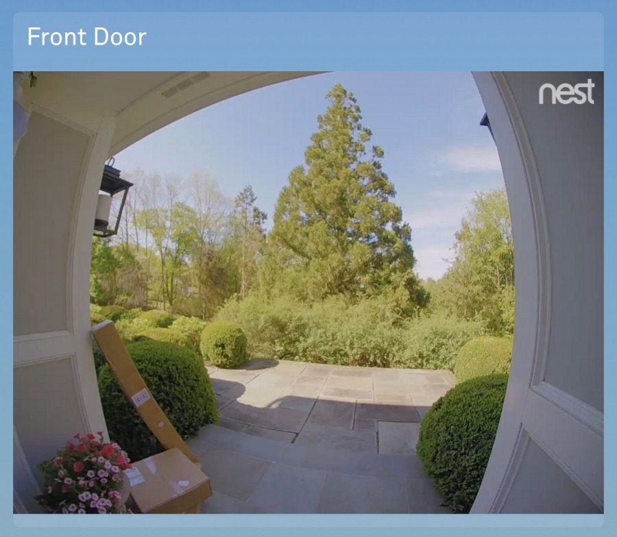 The Nest Hello Video Doorbell is awesome for notifying you when you have packages delivered! Love this feature!
