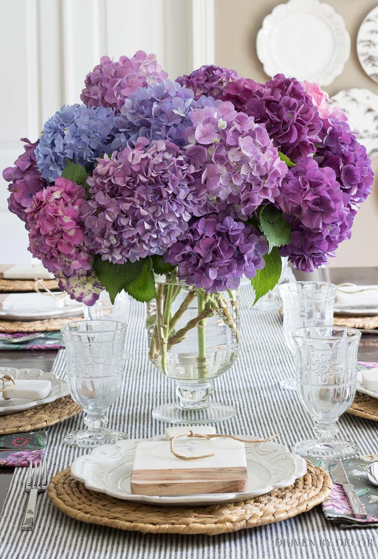 This gorgeous glass vase is one of my five favorite summer essentials!