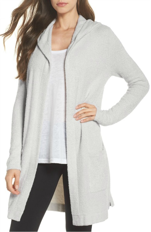 Barefoot Dreams hooded cardigan - on sale!