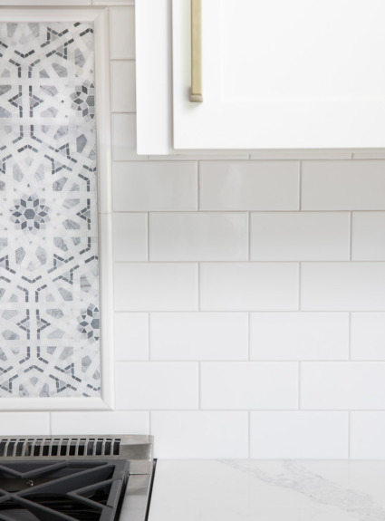 White Subway Tile with Gray Grout: My Favorite Grays