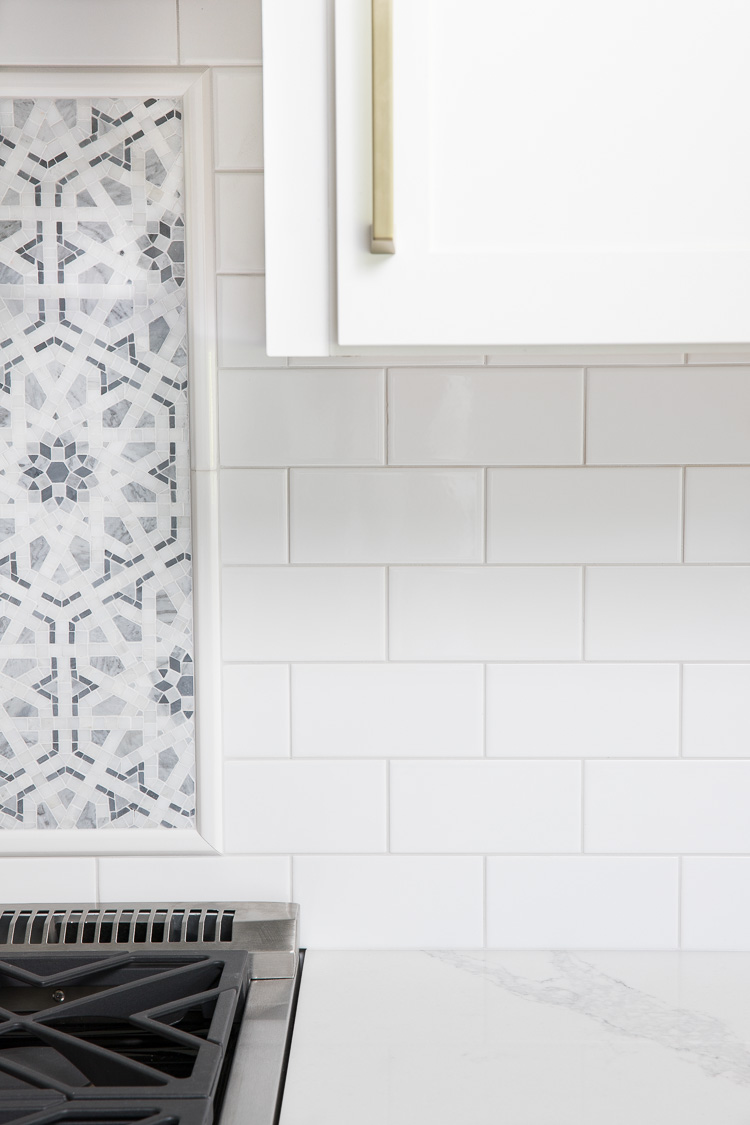 White Subway Tile with Gray Grout: My Favorite Grays (and One Last Kitchen Sneak Peek!)