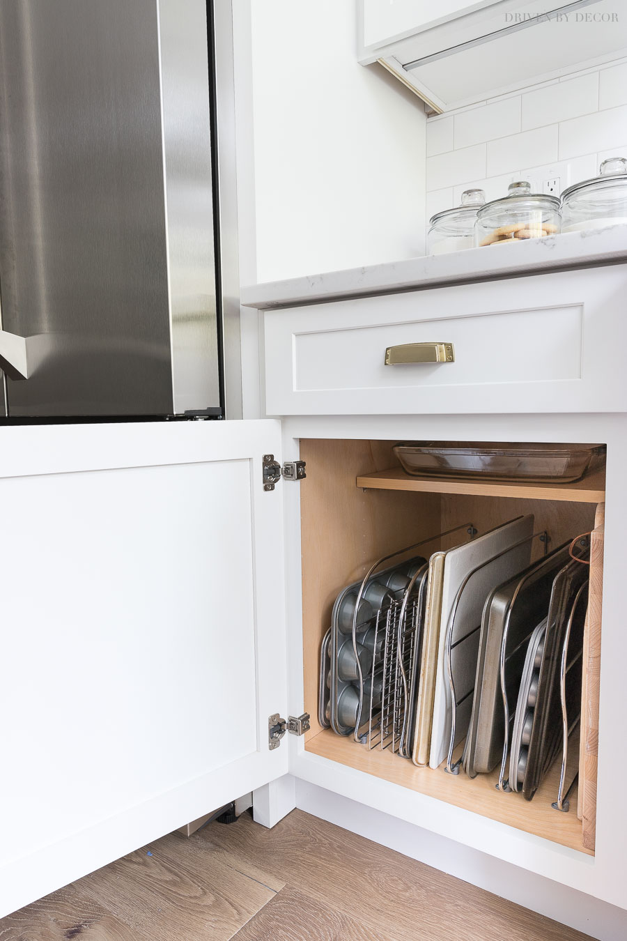 Cabinet Storage Organization Ideas From Our New Kitchen
