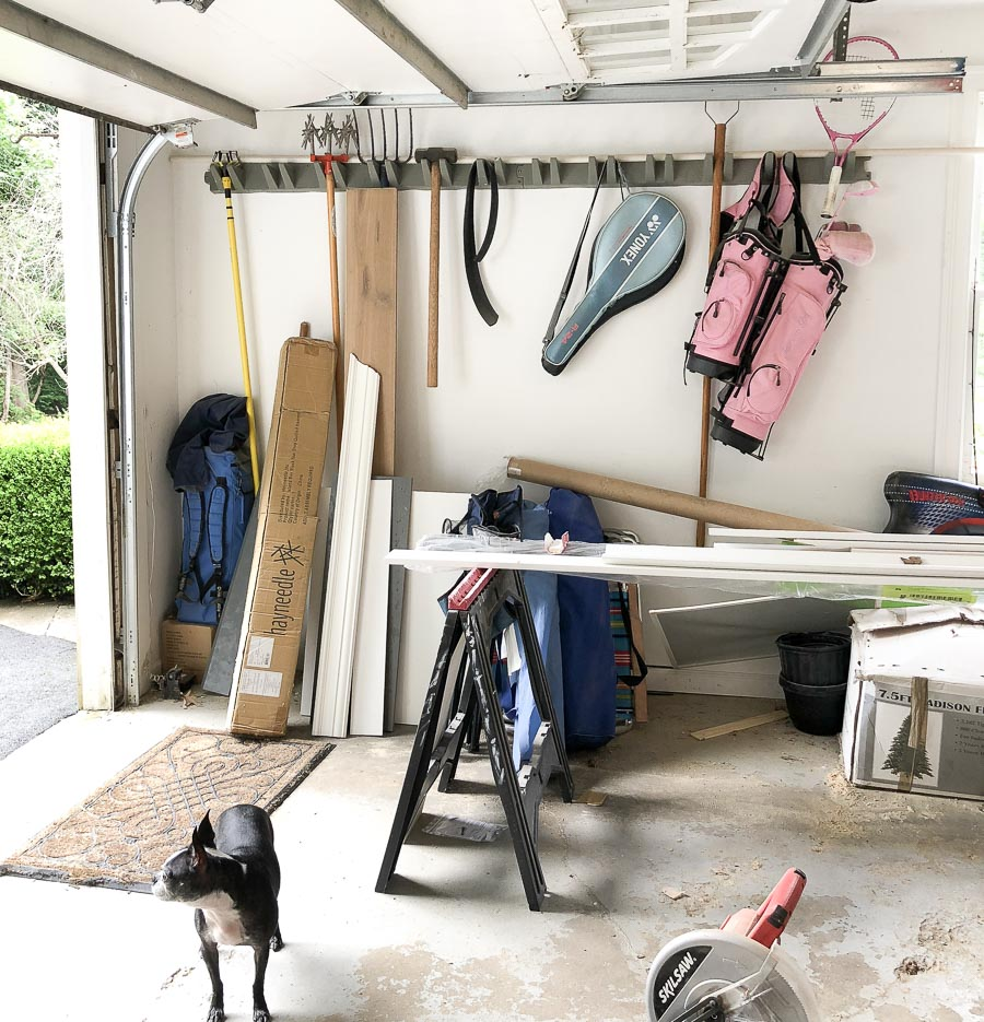 Our old system of tool storage - click through to see it now!