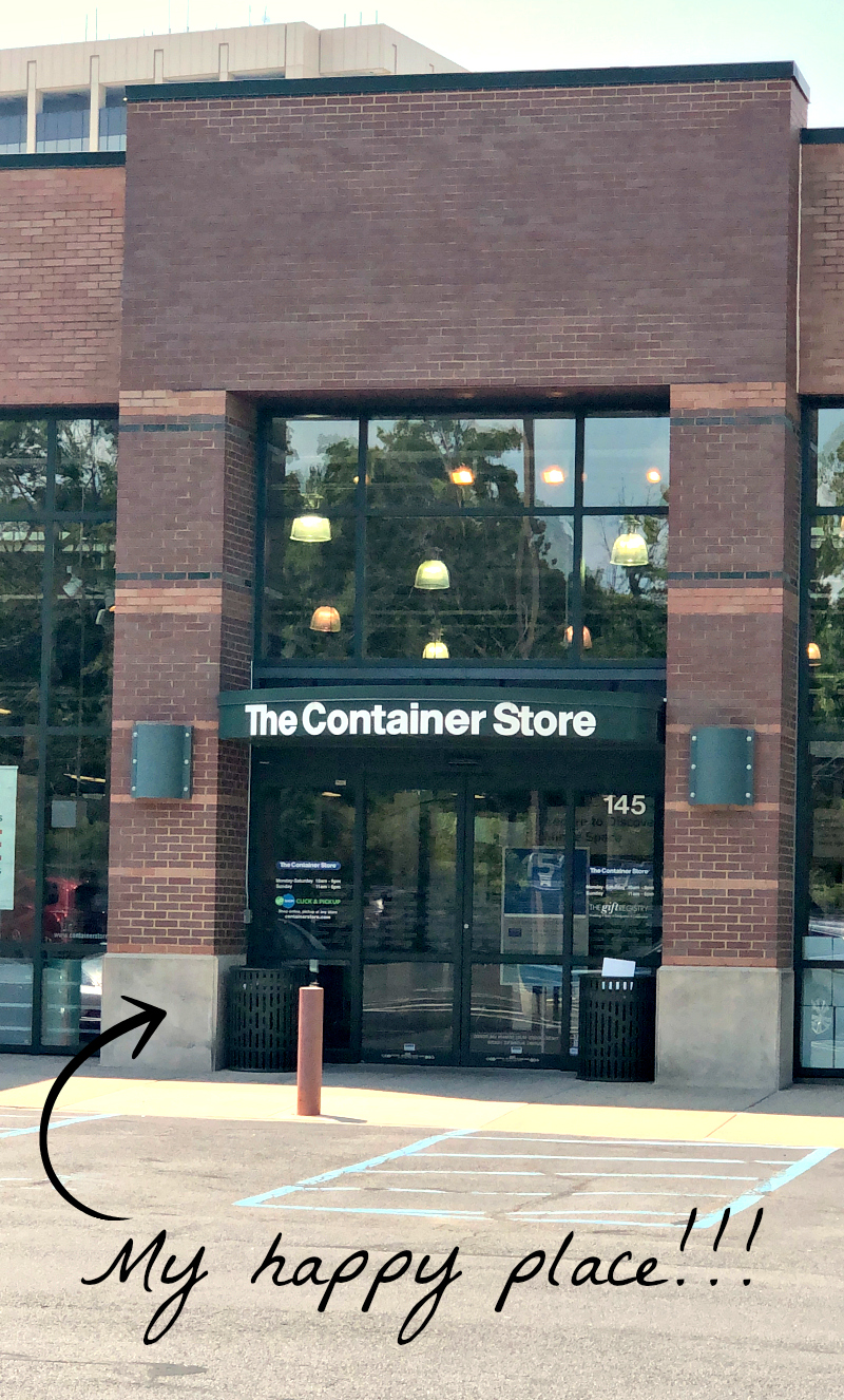 The Container Store!