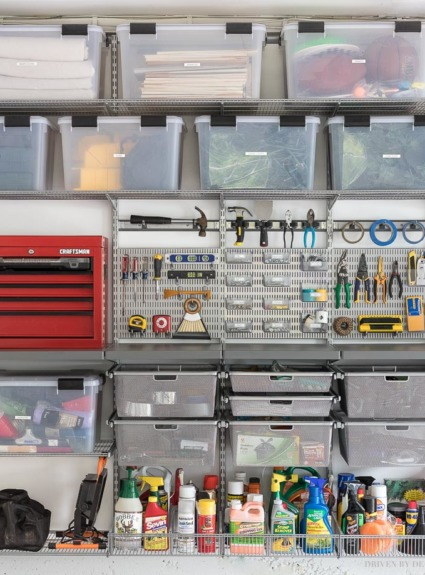 Garage Organization: Tackling Our Crazy Mess of a Garage