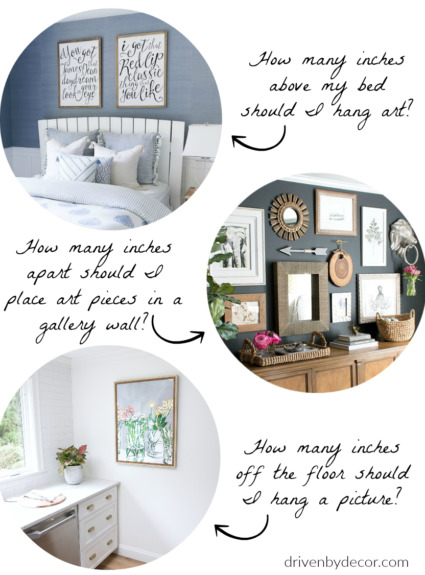 The Best Height to Hang Pictures: Simple Tips For Getting it Right!