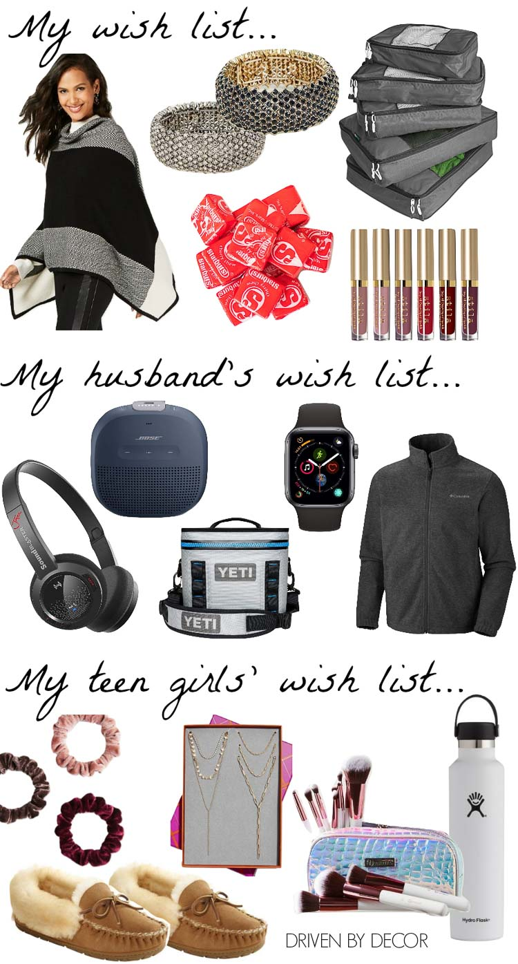 Such a great Christmas gift guide with ideas for him, her, and teen girls!