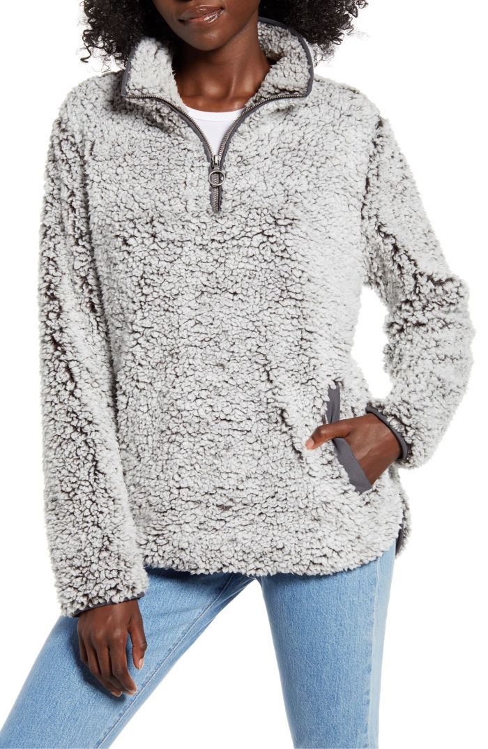 This cozy pullover fleece is at the top of my teen girls' Christmas wish list!