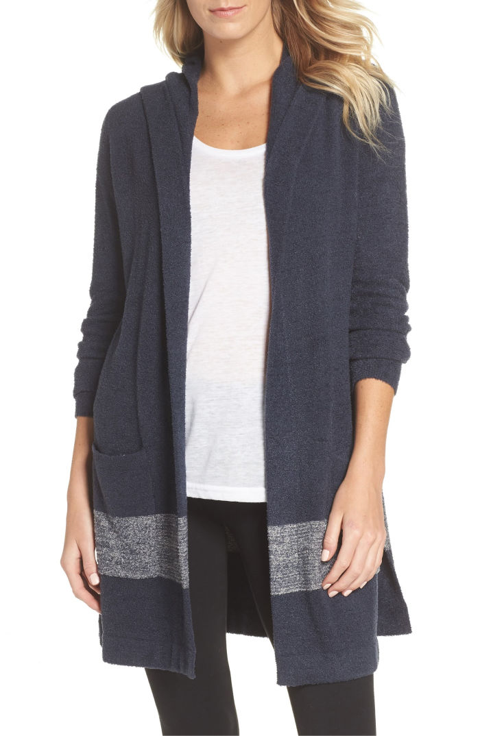 My favorite Barefoot Dreams cardigan is on sale for Black Friday!!!