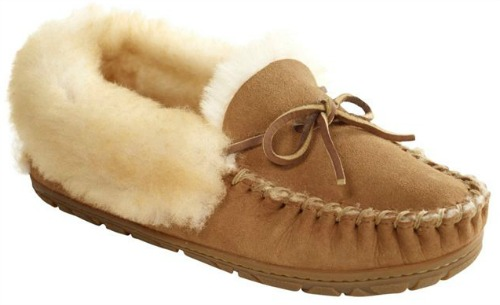 These fuzzy slippers make a great teen Christmas gift!