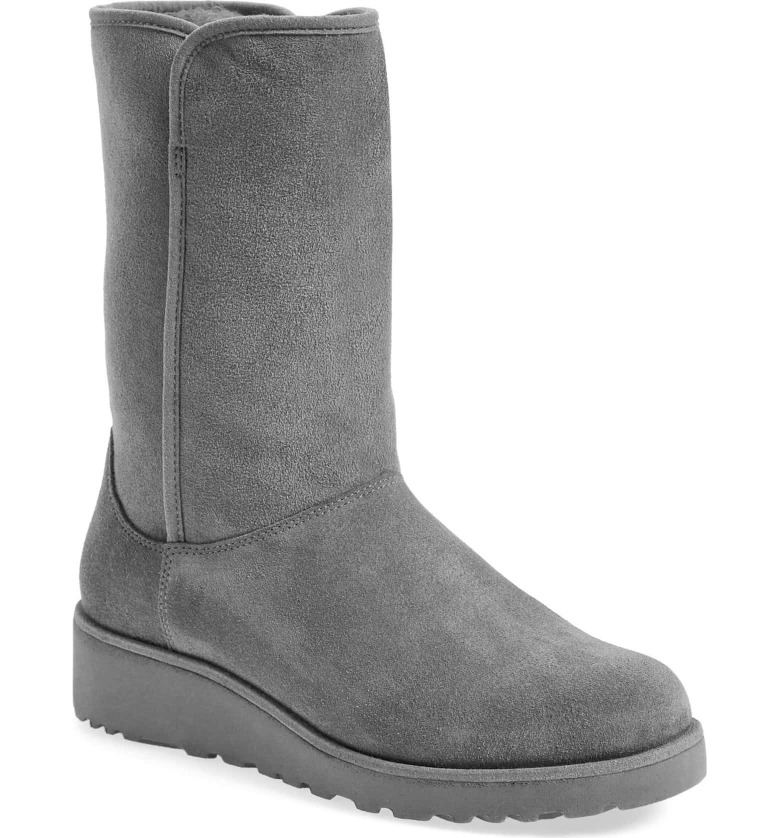 Gray UGG boots on a Black Friday deal!