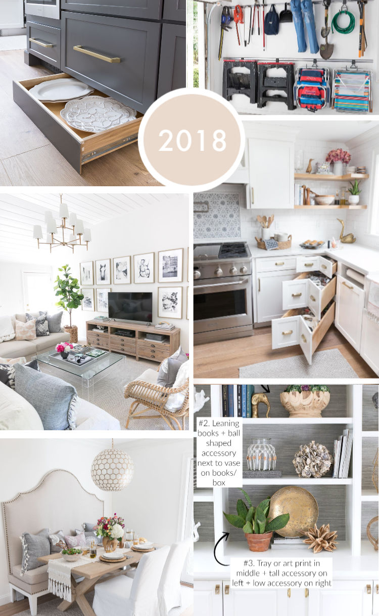 The best decorating, organizing, and DIY posts of 2018 on Driven by Decor!