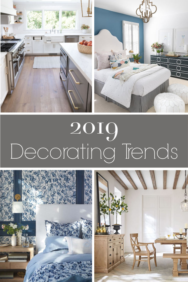 My favorite 2019 decorating trends!