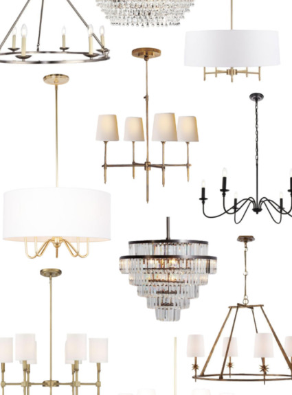 Dining Room Chandeliers: My Ten Favorites!