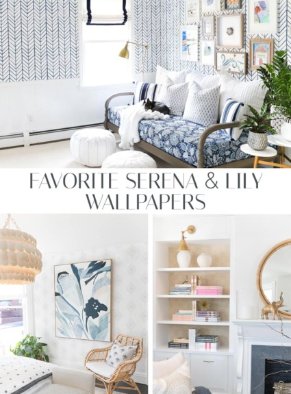 Serena & Lily Wallpaper Favorites + My Foyer Makeover Plans!