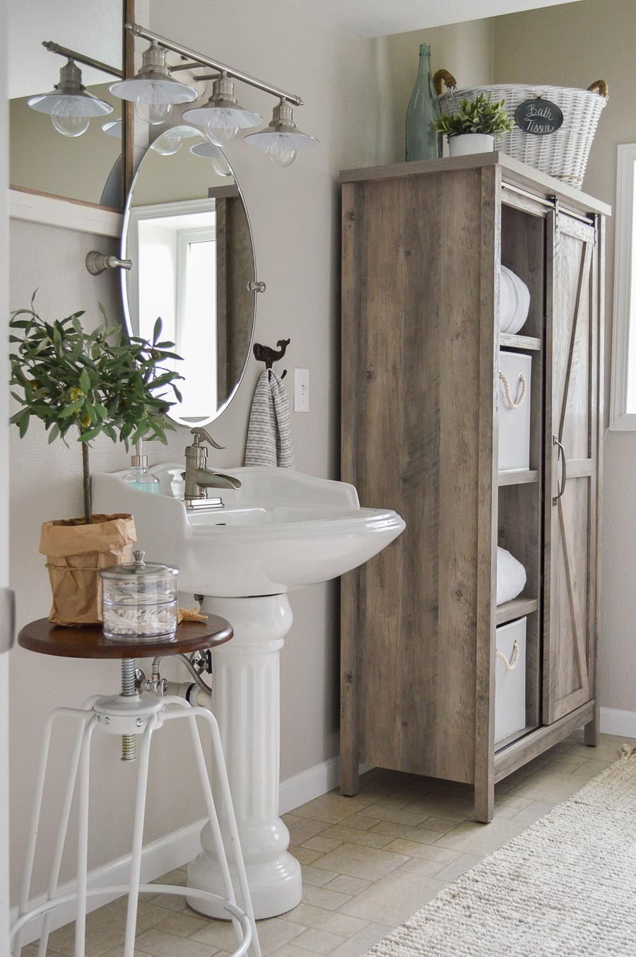One of the best greige paint colors - Sherwin Williams Worldly Gray - love!