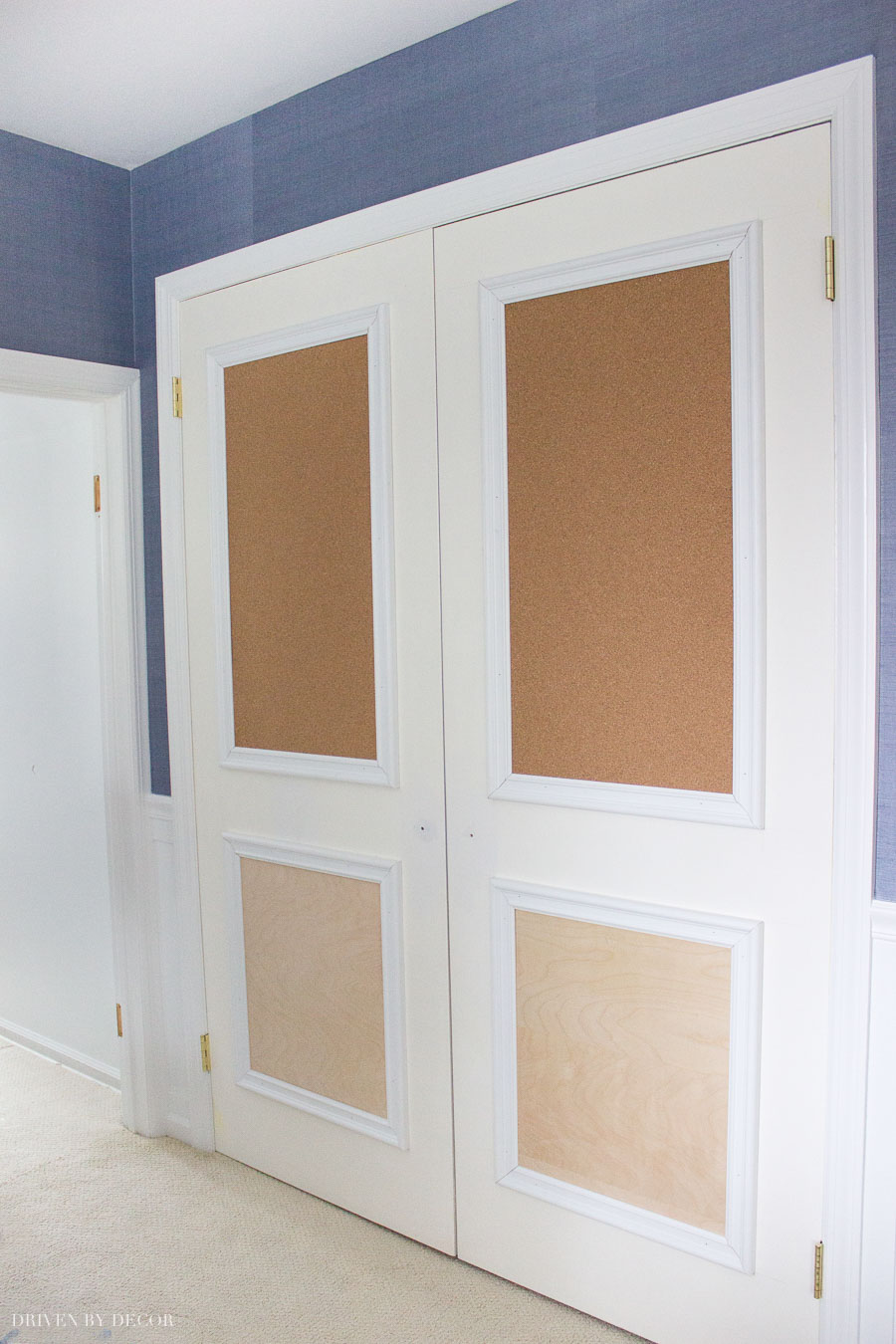 Closet Door Ideas: 3 Unique Ways to Dress Up Bedroom Closet Doors ...