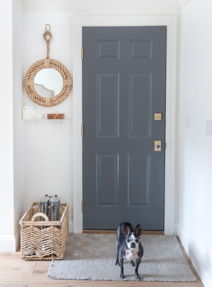 Our Garage Entryway Makeover!