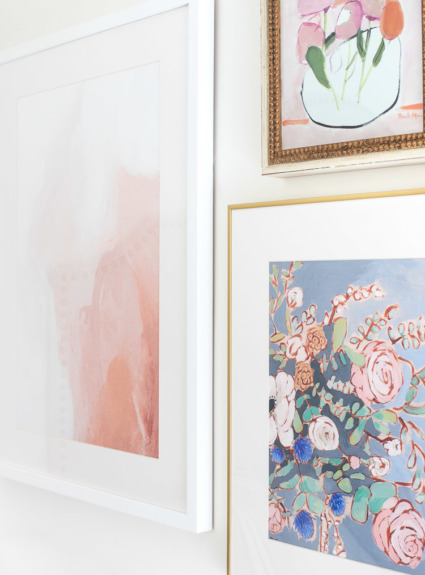 Our New Kitchen Art (Love!) + Tips for Buying Art Online!