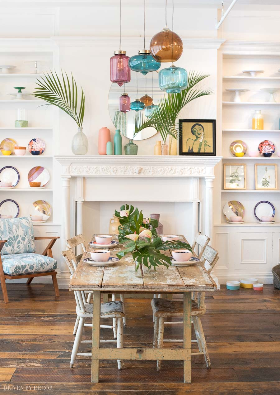 Drew Barrymore's Flower Home collection - all the details in this post!