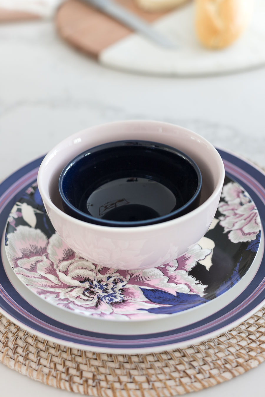Love this gorgeous dinnerware from Drew Barrymore's Flower Home collection!