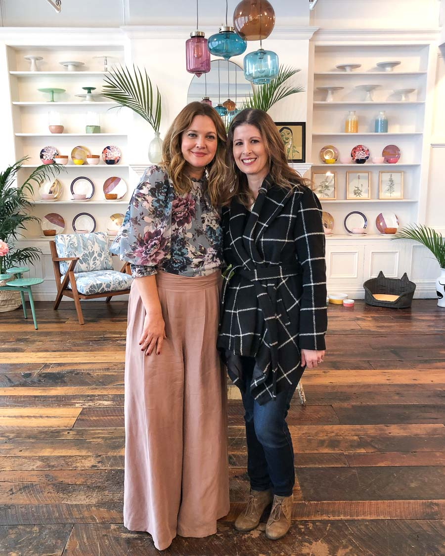 Drew Barrymore has a new home decor line called Flower Home! Learn all about it in this post!