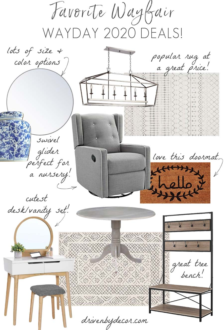 My favorite deals from Wayfair's annual Way Day sale!