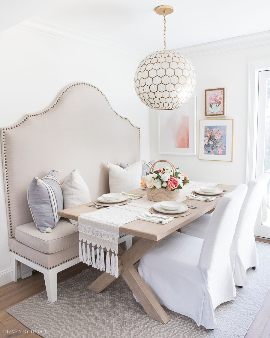 Love this step by step on how to seal and protect a wood dining table top!
