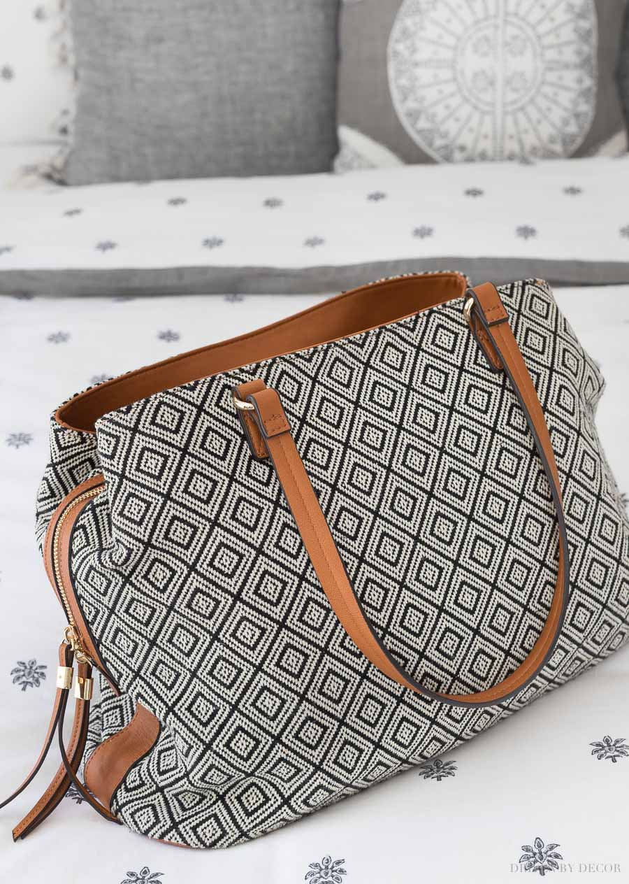 This is the best weekender bag! Perfect for holding everything you need for a weekend travel getaway!