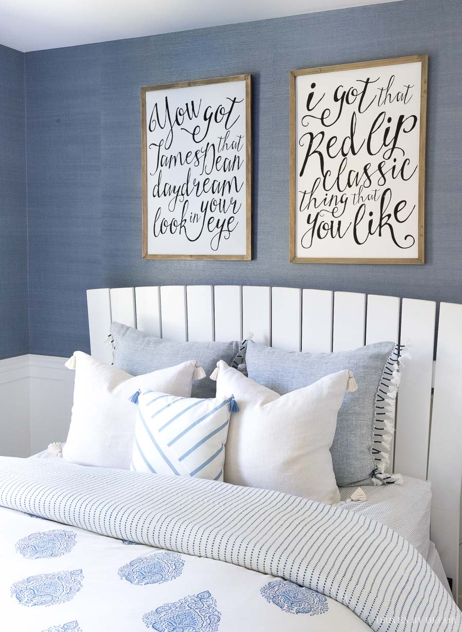 My favorite go-with-everything pillow covers! The perfect not too bright or too ivory cream and I love the tasseled ends!