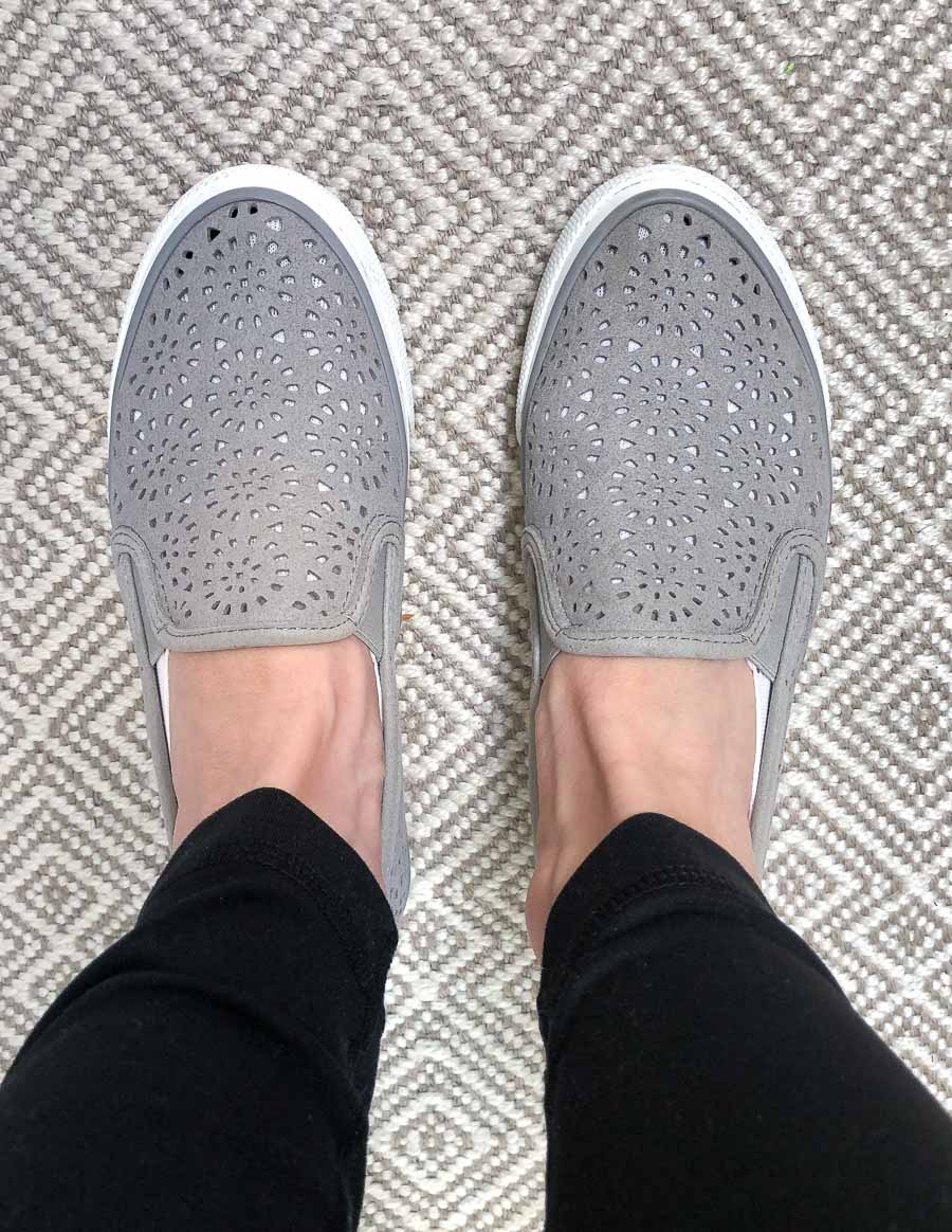 These are THE most comfortable slip on sneakers! Love them!