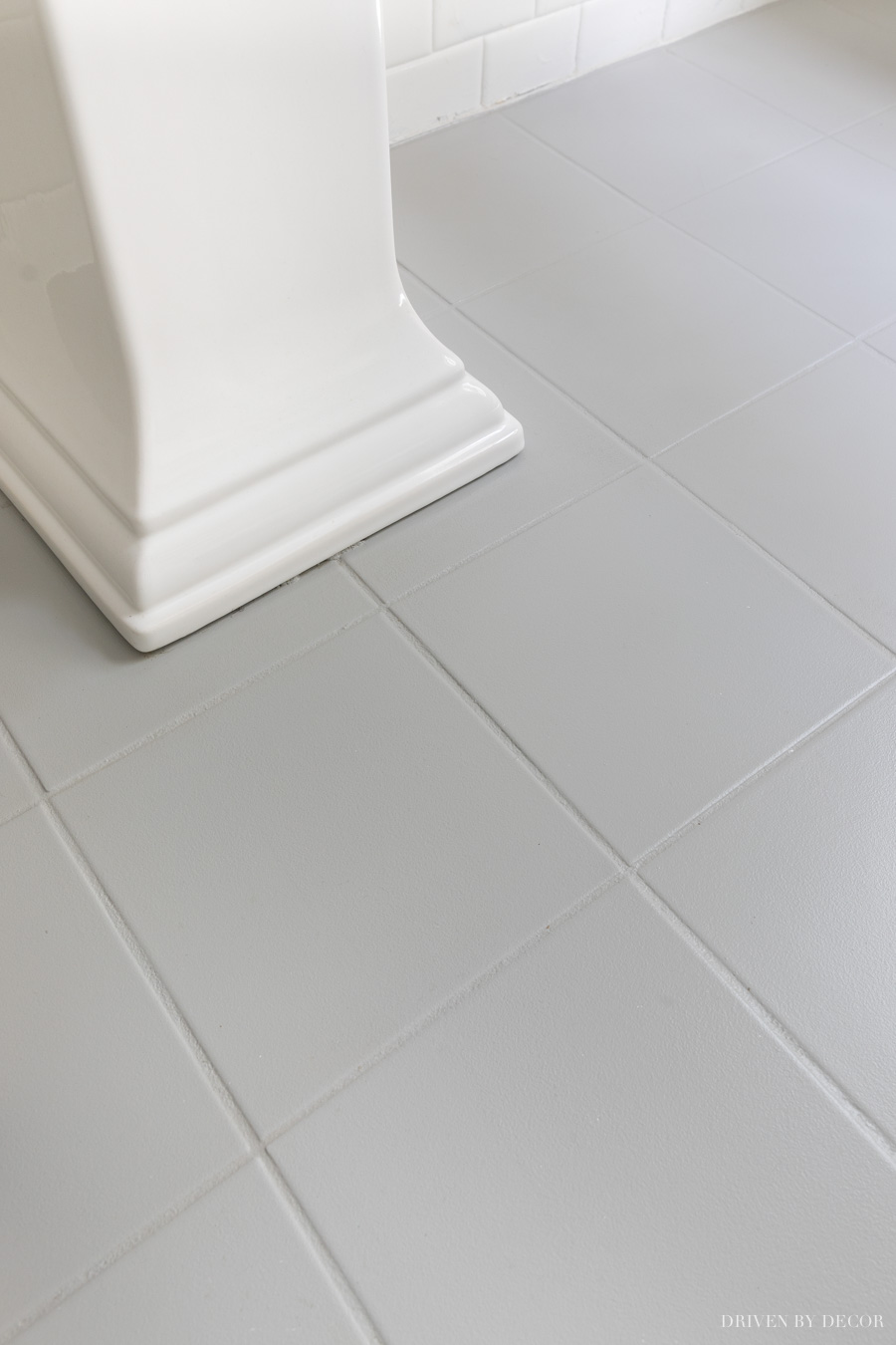 How well do painted tile floors hold up over time? This post answers that question!
