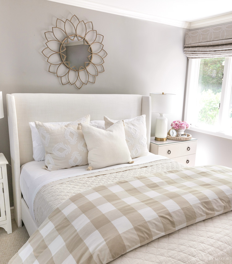 Our guest bedroom makeover!