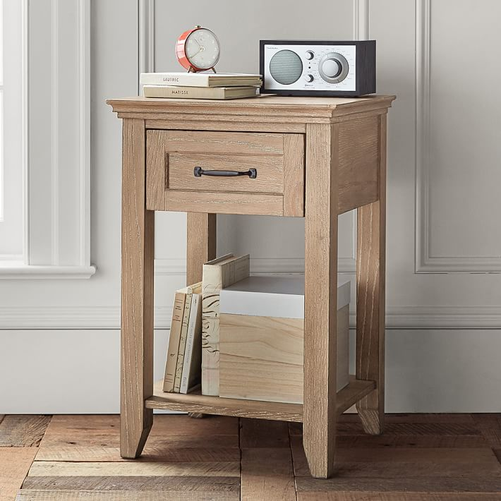 A great nightstand for small space! Lots of beautiful finish options!