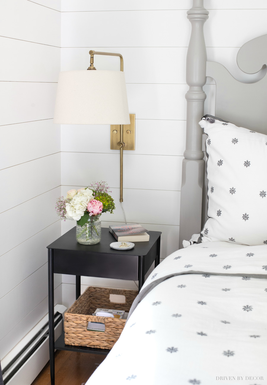 Favorite Narrow Nightstands For Small Space Bedrooms Driven By Decor