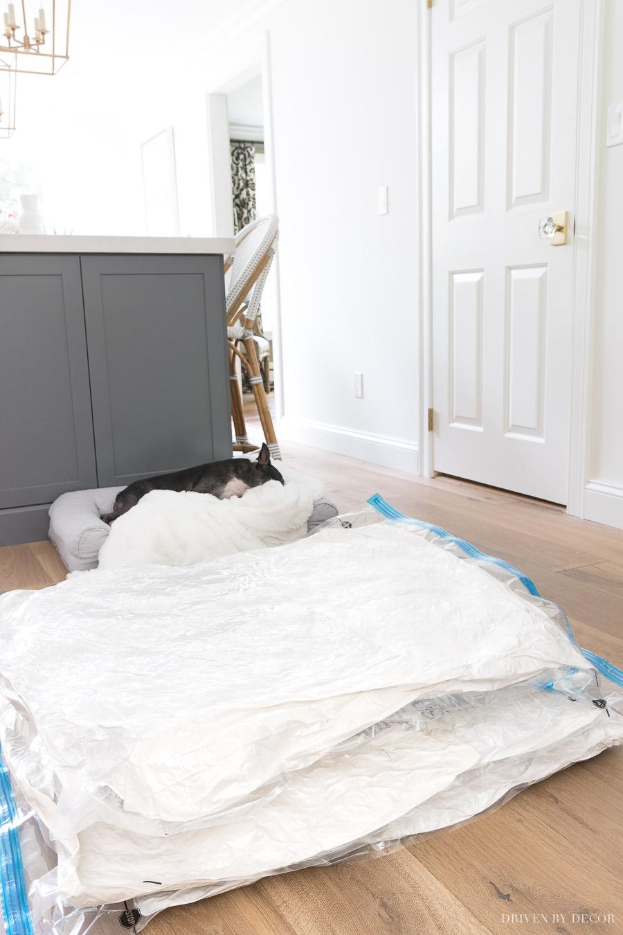 Throw Pillow Storage How To Organize