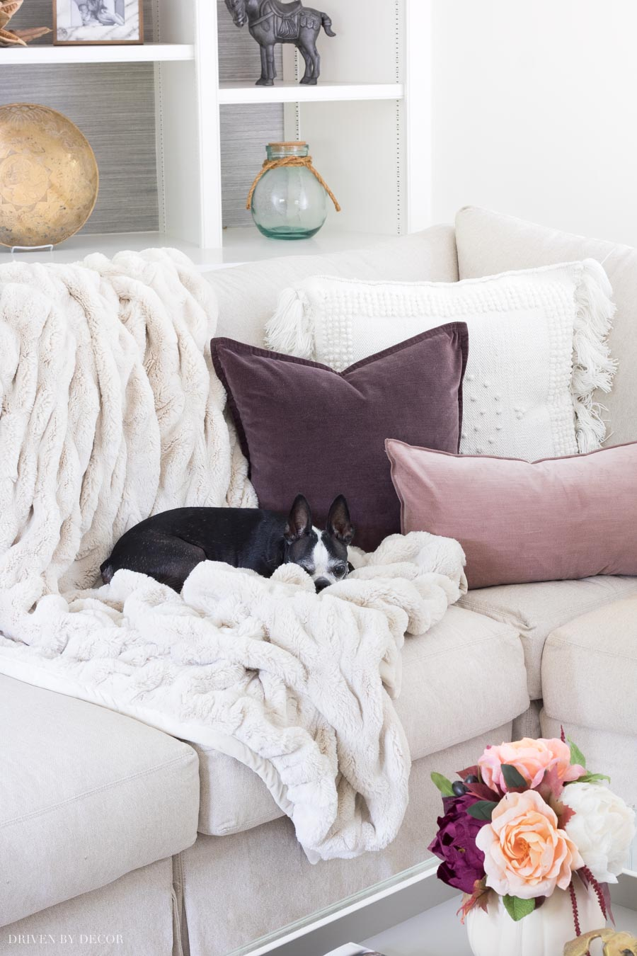Our favorite fur throw - so super soft and washes beautifully!
