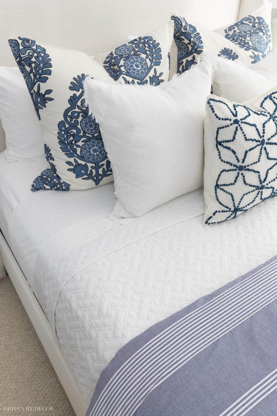 Great post with advice about the best sheets for your bed!