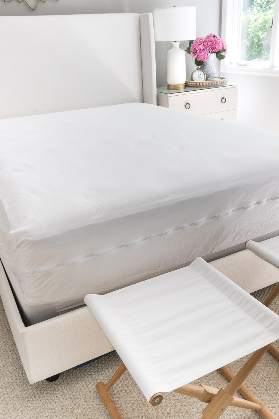 Great recommendation for protecting your mattress from dust mites!
