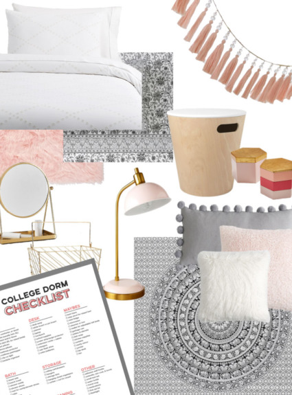 Stylish Dorm Room Essentials & Decor (+ Plans for My Daughter's Dorm Room!)