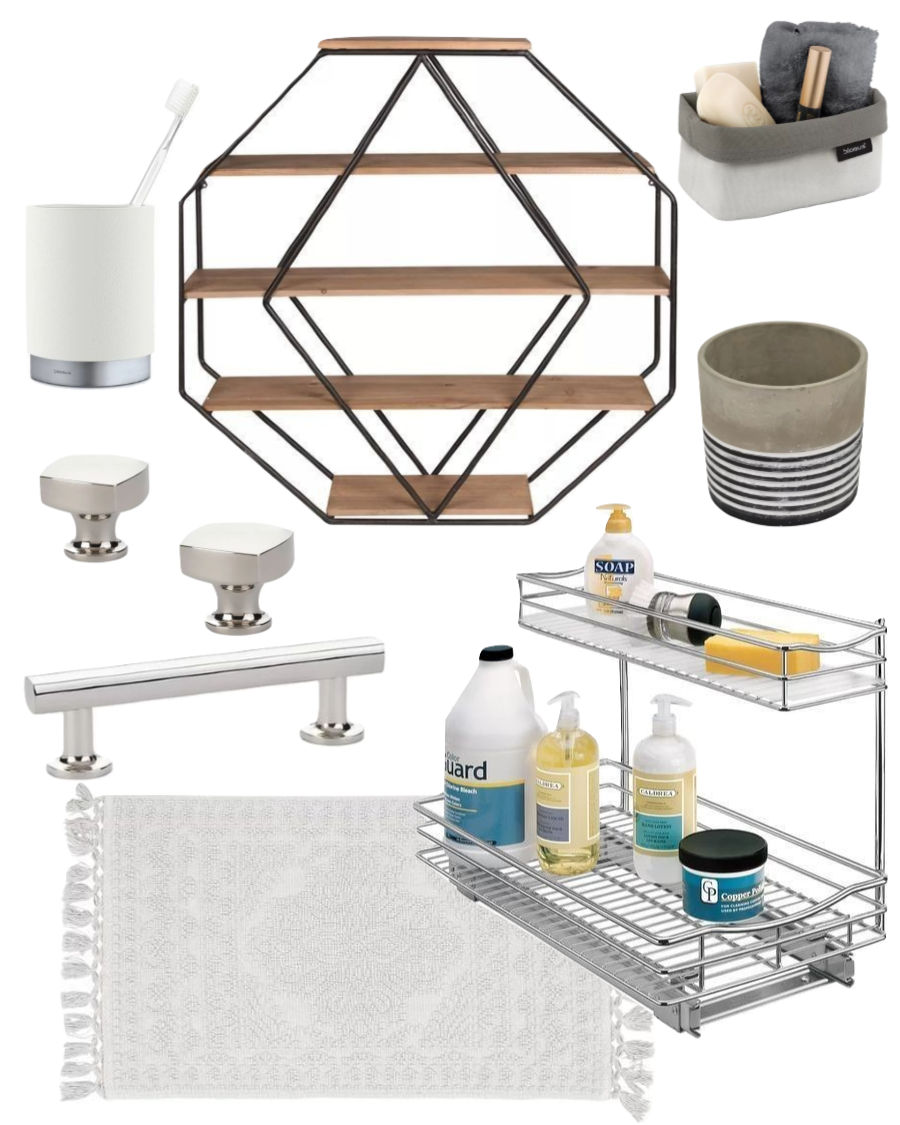 My budget bathroom makeover plan!