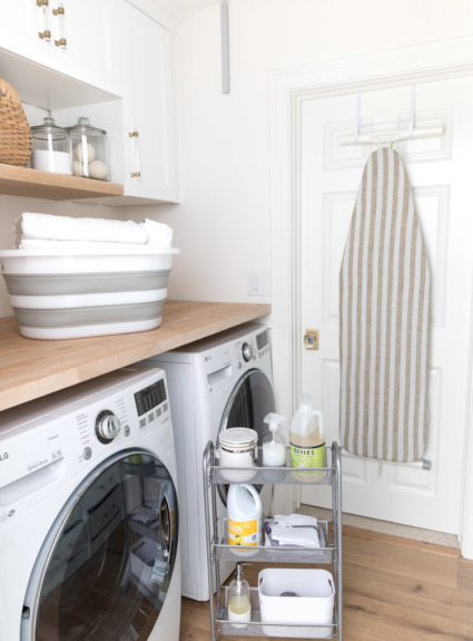 My Six Best Laundry Room Storage Ideas (+ a Big Wayfair Clearout Sale!)