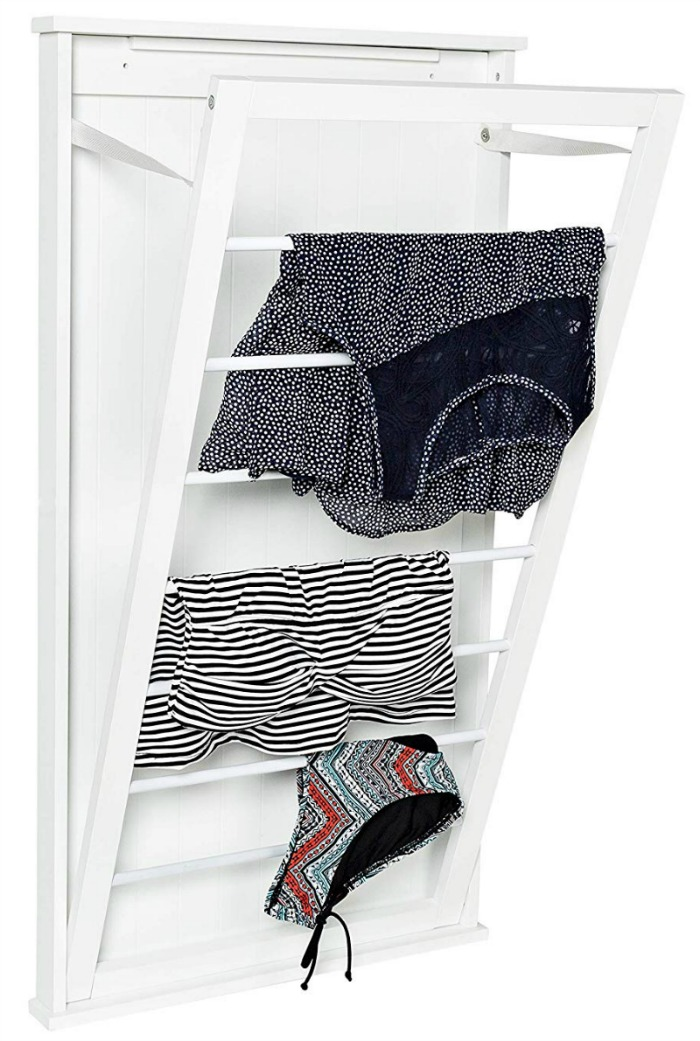 Would love this for my laundry room! The perfect wall mounted drying rack!