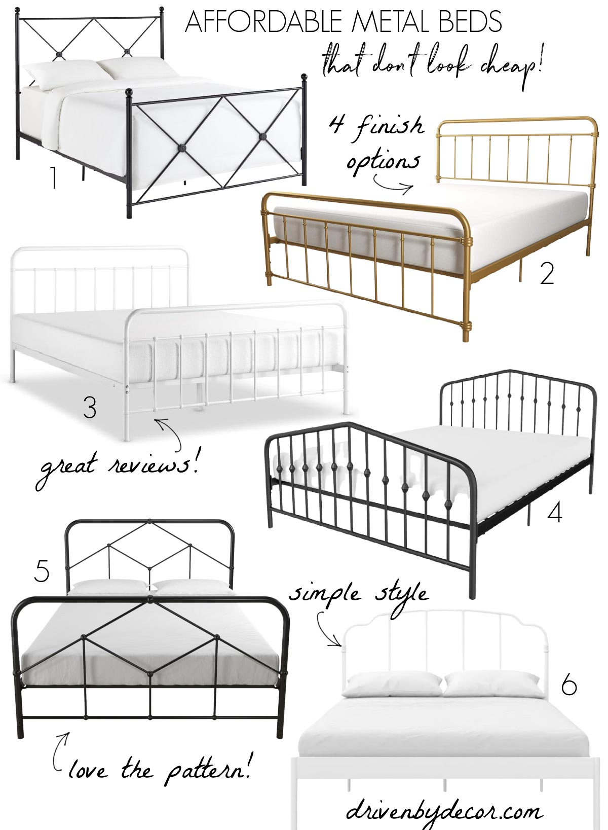 Affordable beds that don't look cheap!