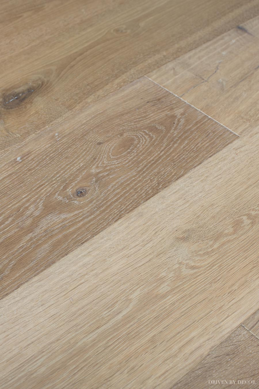 In love with this flooring! Hallmark's Malibu Oak - lots of details in more pics included in post!